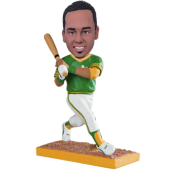 Oakland Baseball Batter Custom Bobblehead