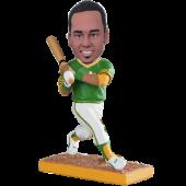 Oakland Baseball Batter Custom Bobblehead