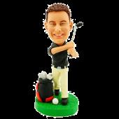 Personalized Golfer Bobblehead