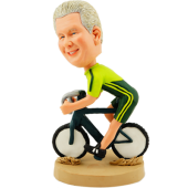 Personalized Biker Bobblehead