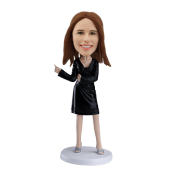 Personalized bobblehead Dancing Girl