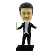Personalized Orchestra Director Bobblehead
