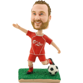 Personalized Soccer Bobblehead
