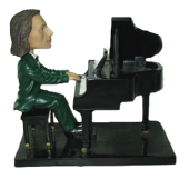Pianist Custom Bobble head