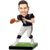 Rams Football Buddy Custom Bobblehead