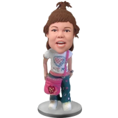 School Girl Custom Bobblehead