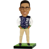 Seahawks Football Fan Personalized Bobble Head