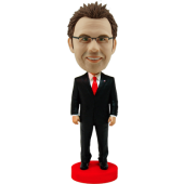 Smart Businessman Bobble