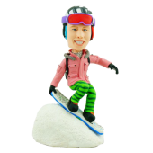 Snowboarding Buddy Custom Bobblehead