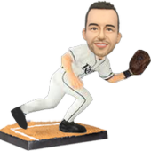 Tampa Bay Baseball Buddy Customized Bobblehead