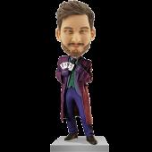 The Dark Knight Joker Custom Bobble Head