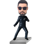 The Green-Hornet Personalized Bobble Head