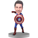 Personalized Captain America Bobble Head
