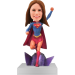 Personalized Superwoman Bobble Head