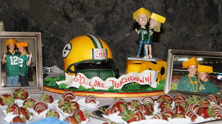 green bay packer wedding cake topper review