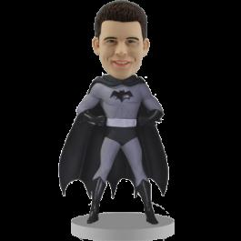 Custom Batman Bobblehead - Black and White