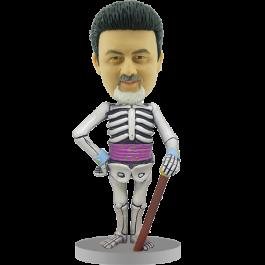 Personalized Skeleton Bobblehead