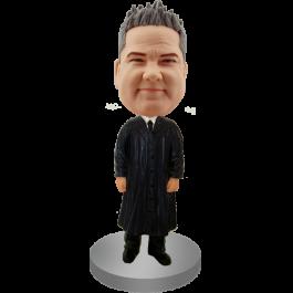 Custom Bobble Head Judge