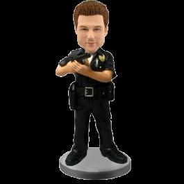 Custom Bobble Head for Policeman