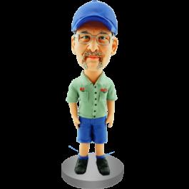 Custom Bobblehead for Factory Worker