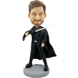 Customized Star Wars Sith Lord Bobble Head