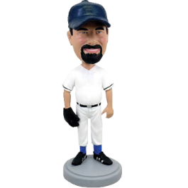 Custom Baseball Buddy Bobble Head
