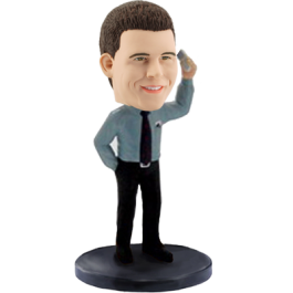 Custom Business man Bobblehead