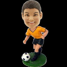 Custom Soccer Boy Bobblehead