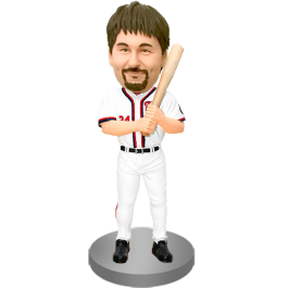 Customized Baseball Man Bobblehead