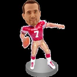 Customized Football Buddy Bobblehead
