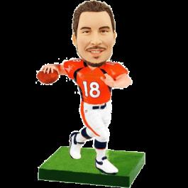 Football Player Customized Bobble Head