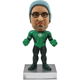 Personalized Green Lantern Bobble Head