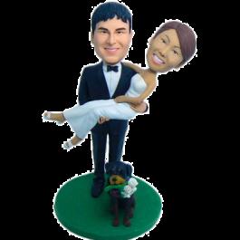 Groom Carring Bride