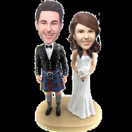 Kilt Groom Wedding