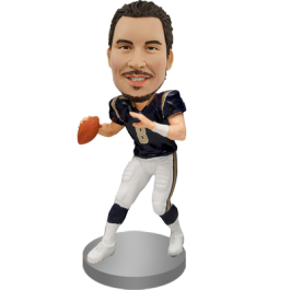 Personalized American Football Bobble