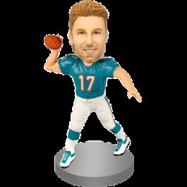Personalized American Football Bobblehead
