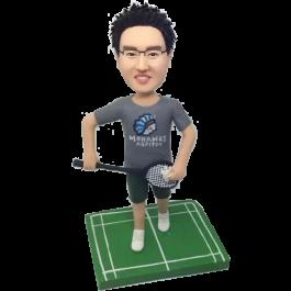 Baminton Player