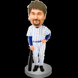 Personalized Baseball Buddy Bobblehead