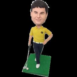 Elegant Golfer
