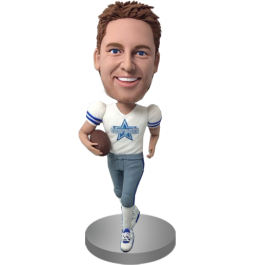 Personalized Football Buddy Bobble Head