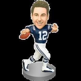 Personalized Football Fan Bobblehead