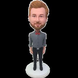 Personalized Gentlemen Bobble Head