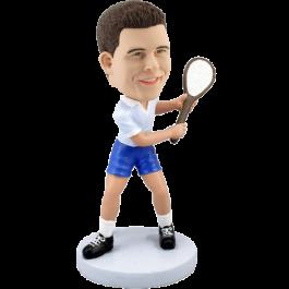 Personalized Tennis Bobble Head
