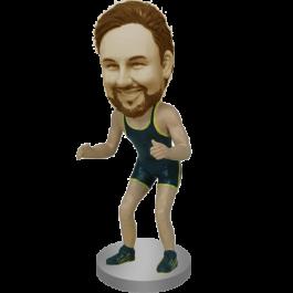 Personalized Wrestler Bobblehead