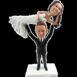 Weight Lifter Wedding