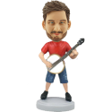 Banjo Player Customized Bobblehead