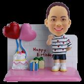 Boy Birthday Custom Bobblehead