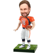 Broncos Football Fan Custom Bobblehead