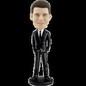 Custom Bobblehead Smart Man