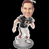 Custom Football Fan Bobble Head